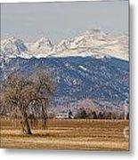 Colorado Front Range Continental Divide Panorama Metal Print by James BO  Insogna