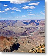 Colorado River Gorge Metal Print