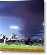 Colorado Rockies V Los Angeles Dodgers Metal Print