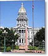 Colorado State Capitol Building Denver Metal Print
