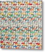 Colorful Blanket Metal Print