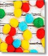 Colorful Bonbons Metal Print