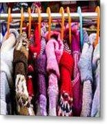 Colorful Coats Metal Print
