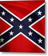 Confederate Flag 5 Metal Print