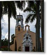 Congregational Church Of Coral Gables Metal Print