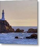 Corbiere Lighthouse - Jersey Metal Print