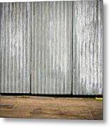 Corrugated Metal Metal Print