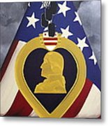 Cost Of Freedom Metal Print