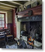 Cosy Cottage Metal Print