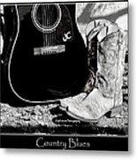 Country Blues Metal Print