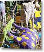 Cow Tipping Metal Print