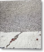 Cracked Metal Print by Margie Hurwich