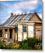 Craigs Hut Metal Print by Shannon Rogers