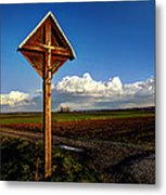 Cross Metal Print