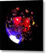 Crystal Ball Three Metal Print