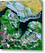 Crystal Reef Metal Print