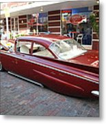 Custom Car Metal Print