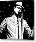Cy Curnin - The Fixx - Vocalist Metal Print by Anthony Gordon Photography