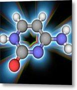 Cytosine Organic Compound Molecule Metal Print