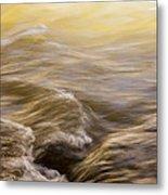 Dance Of Water And Light Metal Print