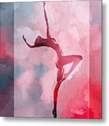 Dancing In The Clouds Metal Print