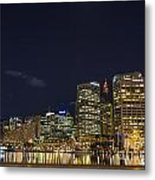 Darling Harbour In Sydney Australia Metal Print
