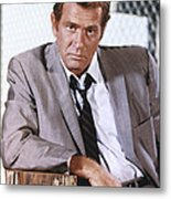 Darren Mcgavin Metal Print by Silver Screen