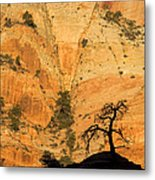 Dawn At Bridge Mountain Metal Print