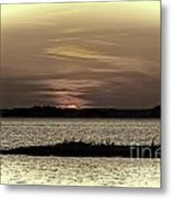 Day Is Done Metal Print