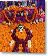 Day Of The Dead Altar, Mexico Metal Print
