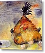 Day Old Chicks Metal Print