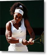 Day Ten The Championships - Wimbledon Metal Print