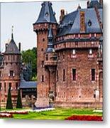 De Haar Castle. Utrecht. Netherlands Metal Print by Jenny Rainbow