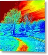 Dead And Alive Metal Print