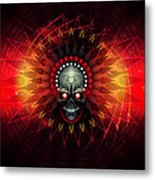 Deadstep - Hellfire Remix Metal Print