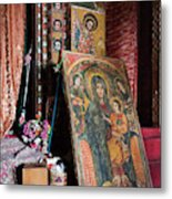 Debre Berhan Selassie Church In Gonder Metal Print