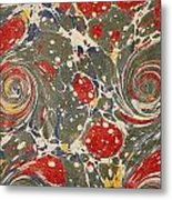 Decorative Endpaper From A Nineteenth Metal Print