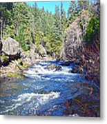 Deer Creek Metal Print