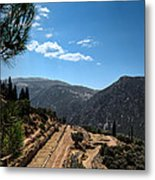 Delphi - Greece Metal Print