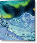Denali Night Metal Print