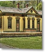Chester Park Train Depot Metal Print