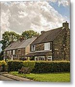 Derbyshire Cottages Metal Print
