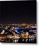 Derry At Night Metal Print