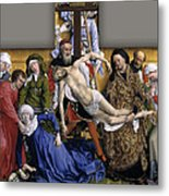 Descent From The Cross Metal Print