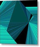 Design Square 32 Metal Print