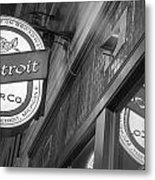 Detroit Beer Company  Metal Print