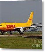 Dhl Airbus A300 Metal Print