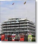 Diamond Jubilee Weekend At The Derby Horse Race On Epsom Downs  Metal Print