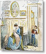 Dickens: David Copperfield Metal Print