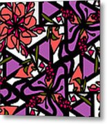 Digi-flora Metal Print